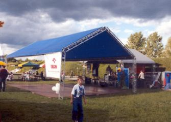 Festyn pracowniczy Szczecin 2003 r.
