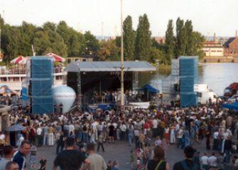 Wały Chrobrego Szczecin 2003 r.
