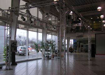 Salon Toyota Szczecin 2008 r.